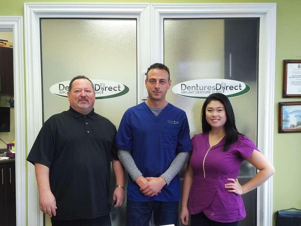 Toronto Denturist Clinic Team at Dentures Direct