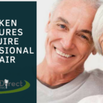 Broken Dentures Require Professional Repair