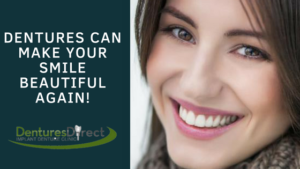 Dentures Can Make Your Smile Beautiful Again
